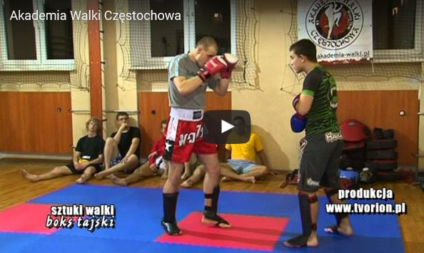 Tv Orion w Akademii Walki Częstochowa – video